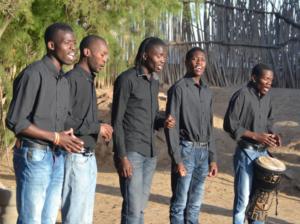 """Deutschlandtournee der """"African Vocal Acapella Band"""" aus Swakopmund"""